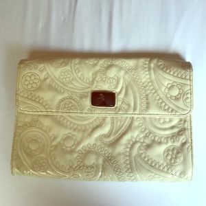 Vintage Kate Space Patent Leather Clutch